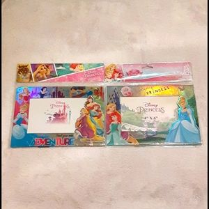 NWT! Disney Princess Magnetic Picture Frames
